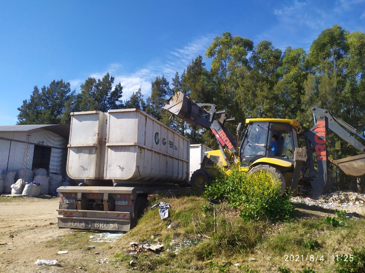 En lo que va del año se van recuperando 160 mil kilos de materiales reciclables en Villa Elisa