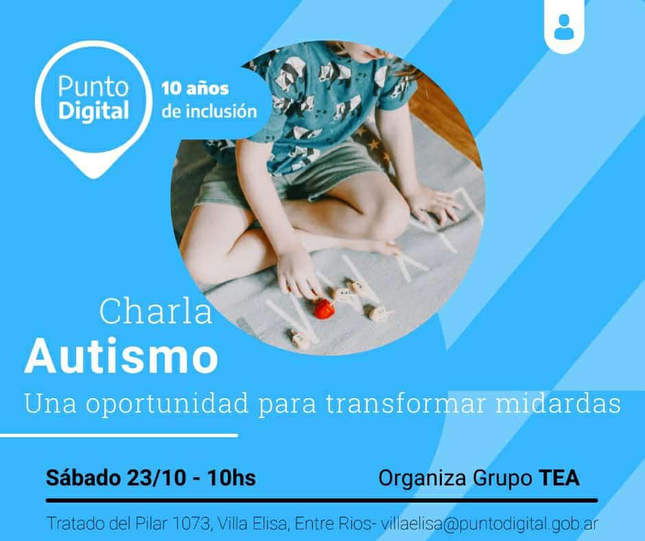 Charla abierta sobre Autismo en el Punto Digital