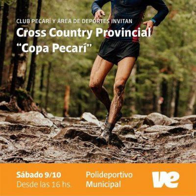 """Este sábado será el Cross Country Provincial """"Copa Pecari"""" en Villa Elisa"""