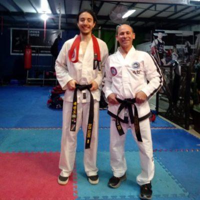 Se suma un nuevo Cinturón Negro a la Escuela Municipal de Taekwondo en Villa Elisa