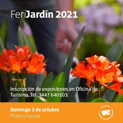 Se definió fecha de la FeriJardín 2021