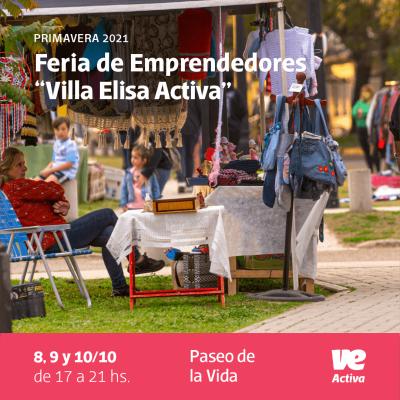 """Fin de semana largo con Feria de Emprendedores """"Villa Elisa Activa"""""""