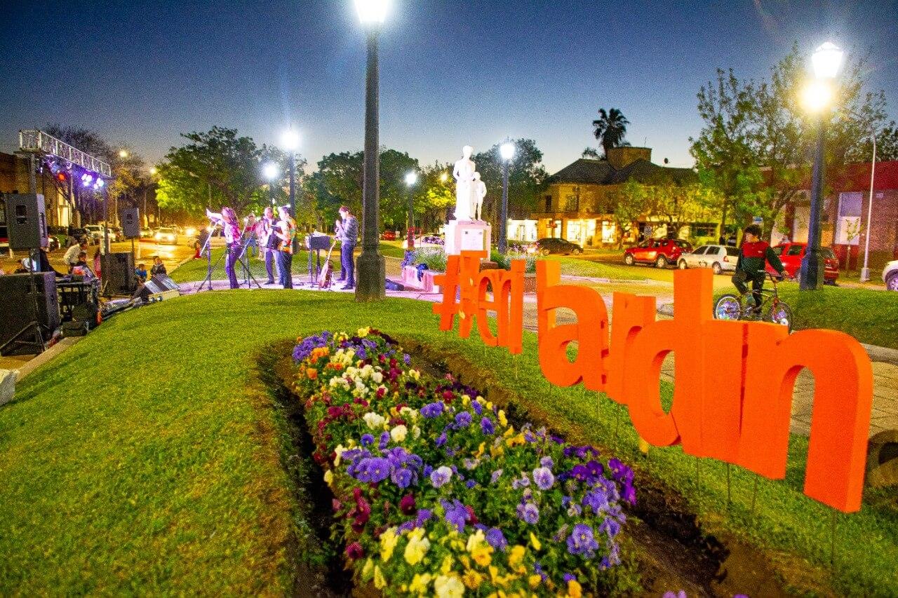 Villa Elisa vivió una festiva edición de Ferijardín 2021