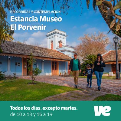 """Horarios actuales de Estancia Museo """"El Porvenir"""""""
